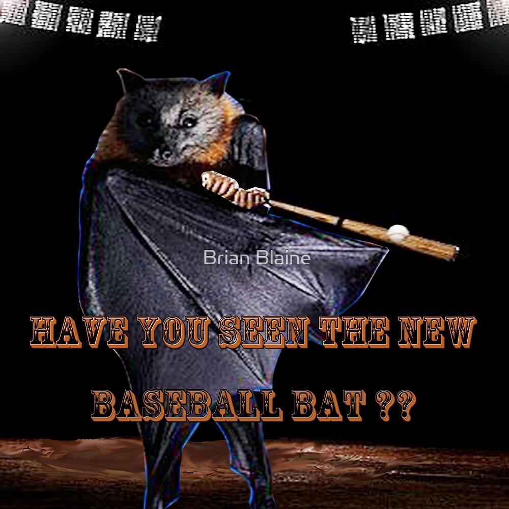 Baseball Bat by Brian Blaine