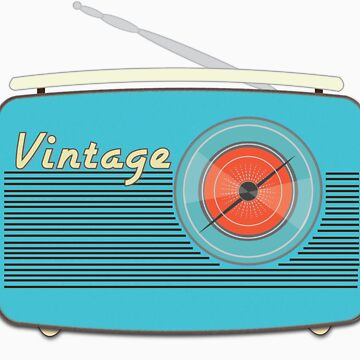 Vintage Radio-Take Me to The Beach by simplemachine