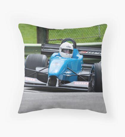 Hill climb car racing  Throw Pillow