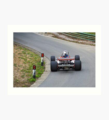 British hill climb racing car Art Print