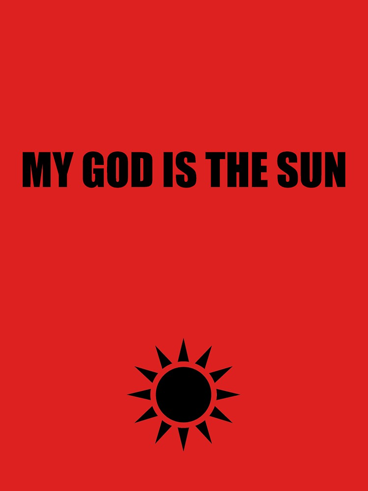 My god is the sun 2 by Vinchtef