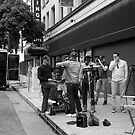 Crew filming a commercial. by philw