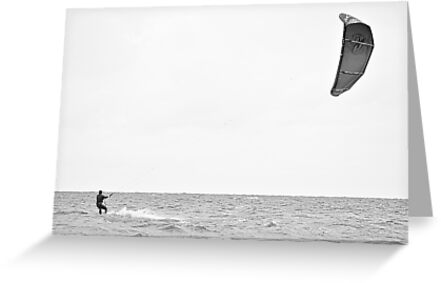 Kite Surfing by Galind