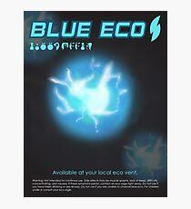 Blue Eco Photographic Print
