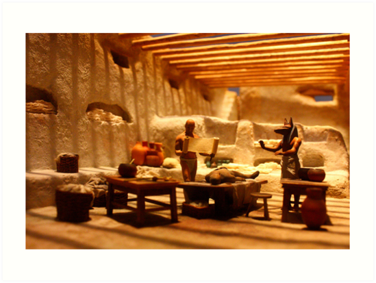 Miniature Mummification 2 by Daniel Owens