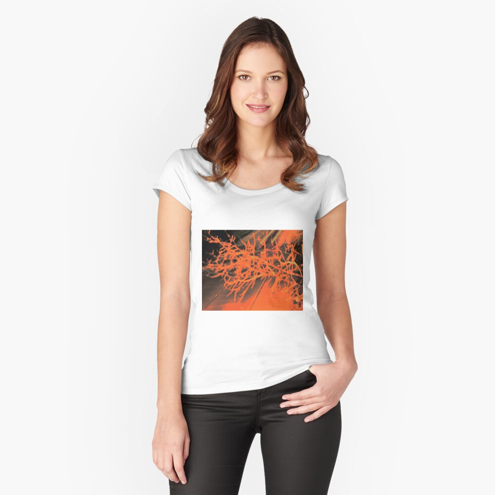 Skid Marks Women's Fitted Scoop T-Shirt Front
