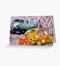 VW - Volkswagon Greeting Card