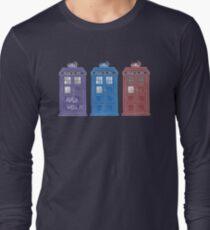 The Doctors' TARDISes Long Sleeve T-Shirt