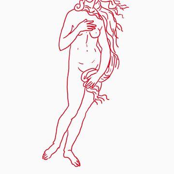 Birth of Venus by designbyzach