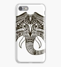the head of an elephant iPhone Case/Skin