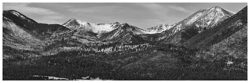 Four Peaks - Fountain Hills, AZ Panorama by Edith Reynolds