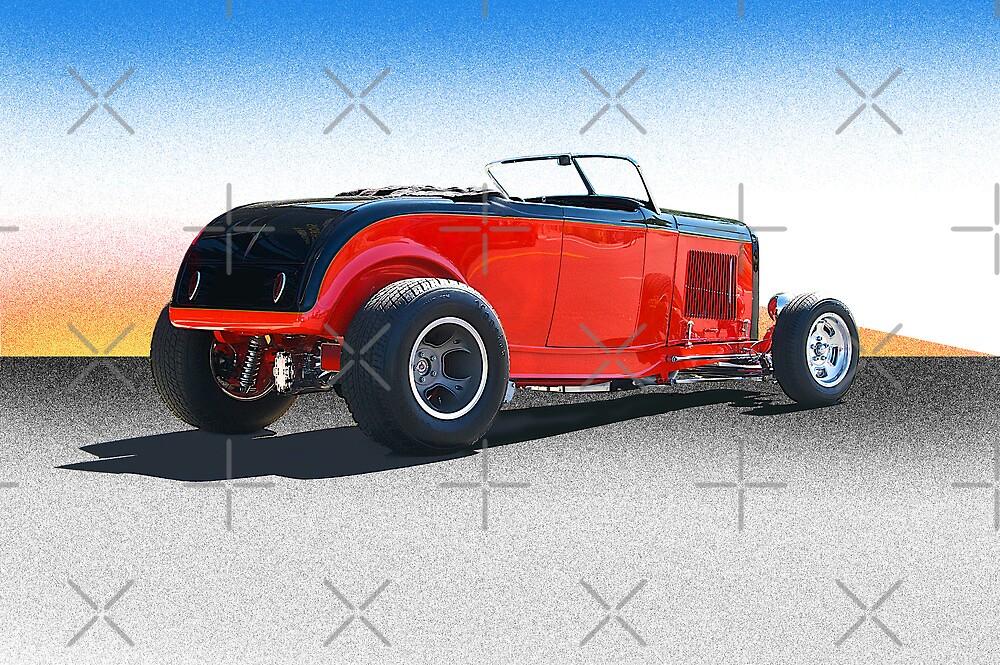 1932 Ford Roadster by DaveKoontz