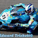 Blue Racer by Jeremy   Trickett.