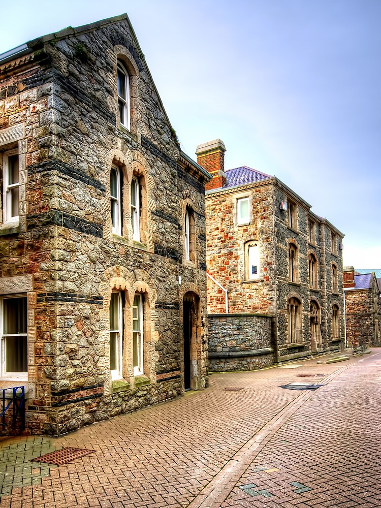 Caernarvon Back Street by Stephen Smith