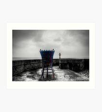 Lyme Regis Beacon Art Print