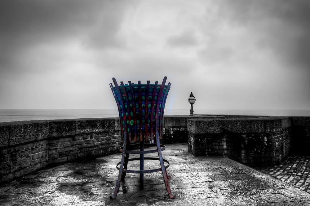 Lyme Regis Beacon by Stephen Smith