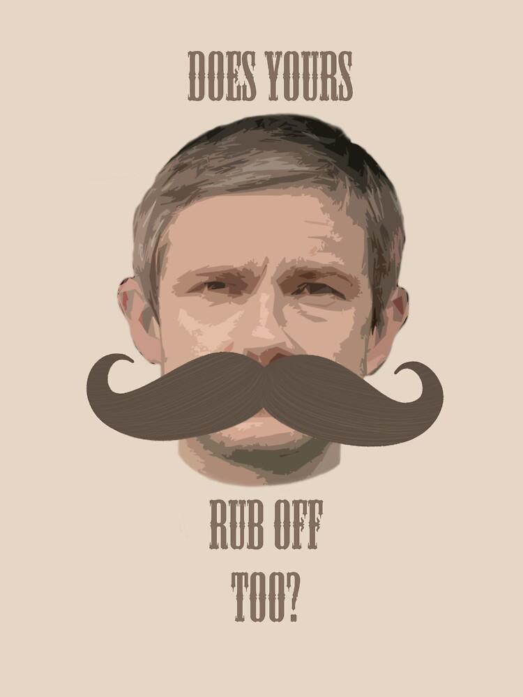 Watson's Moustache by ECink