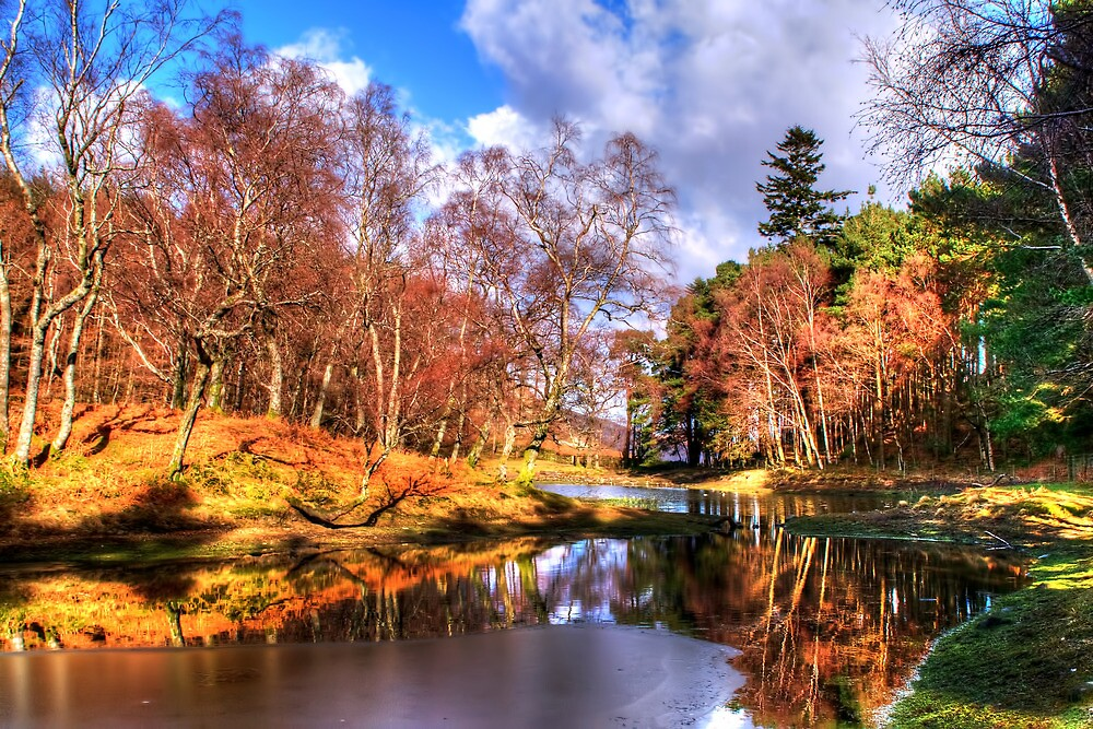 Lantys Tarn, Lake District by Stephen Smith