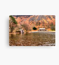 Wastwater Boathouse Canvas Print