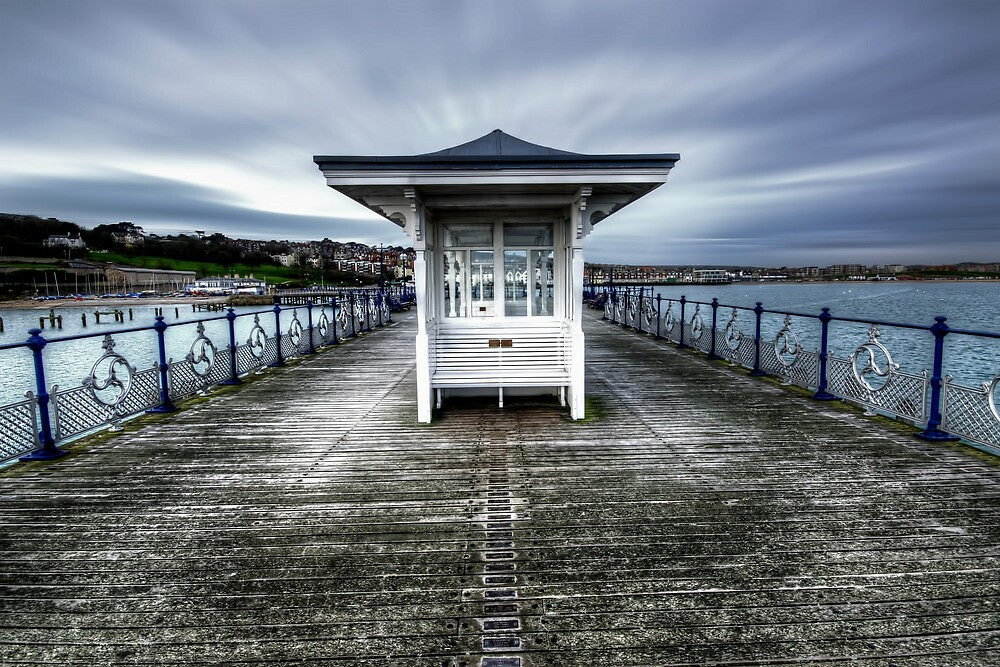 Swanage Pier, Dorset by Stephen Smith