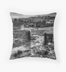 Dockray Views, Lake District Throw Pillow