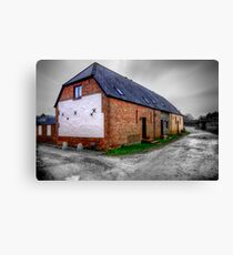 Bere Regis Cottage, Dorset Canvas Print