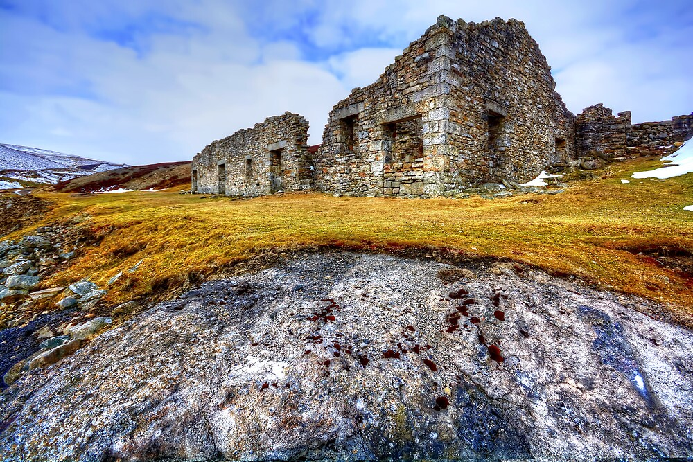 Surrender Lead Mine, Swaledale by Stephen Smith
