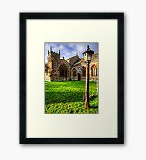 St John The Baptist, Bere Regis Framed Print