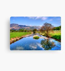 Goldrill Beck Canvas Print