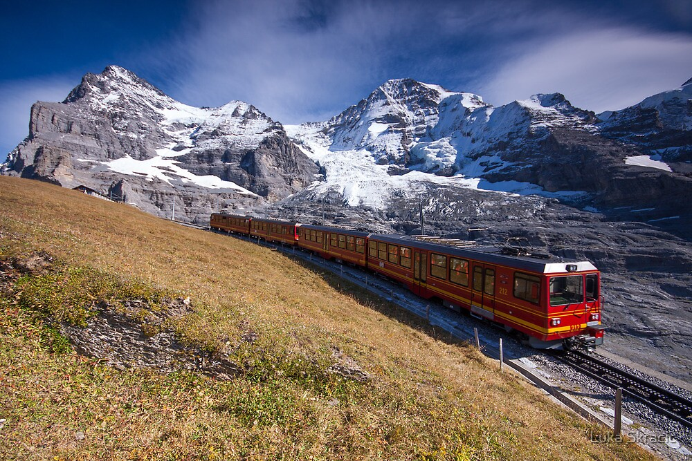 The Swiss Landscape by Luka Skracic