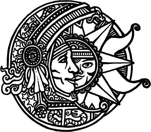 Sun and Moon by viktoriya-ts