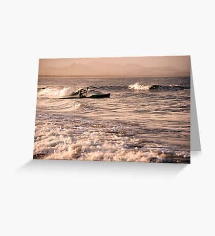 Wave Rider Greeting Card