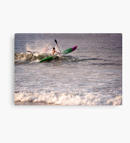 Over the Top Canvas Print