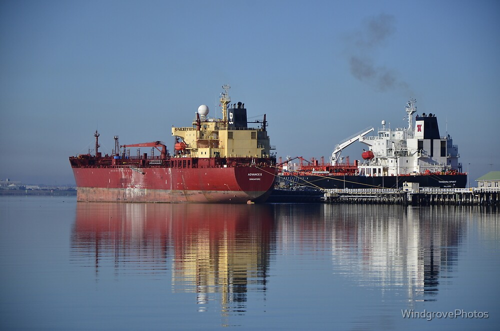 The Oil Tankers by WindgrovePhotos
