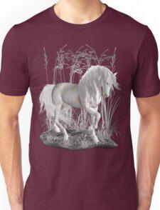 Ivory .. a white stallion Unisex T-Shirt