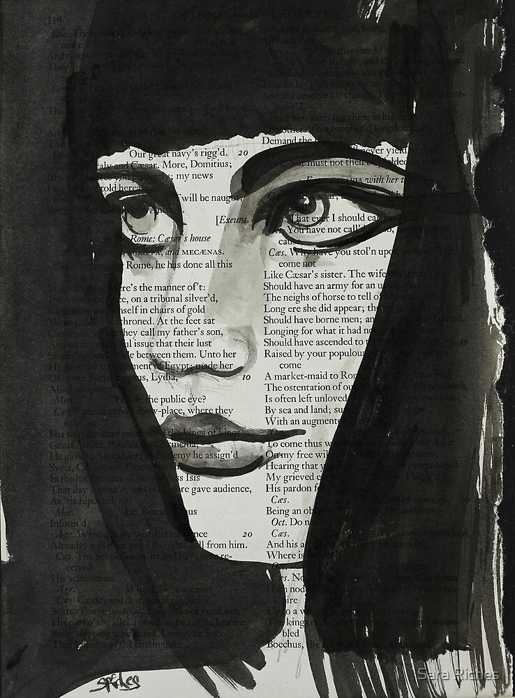 Cleopatra By Candlelight. by Sara Riches
