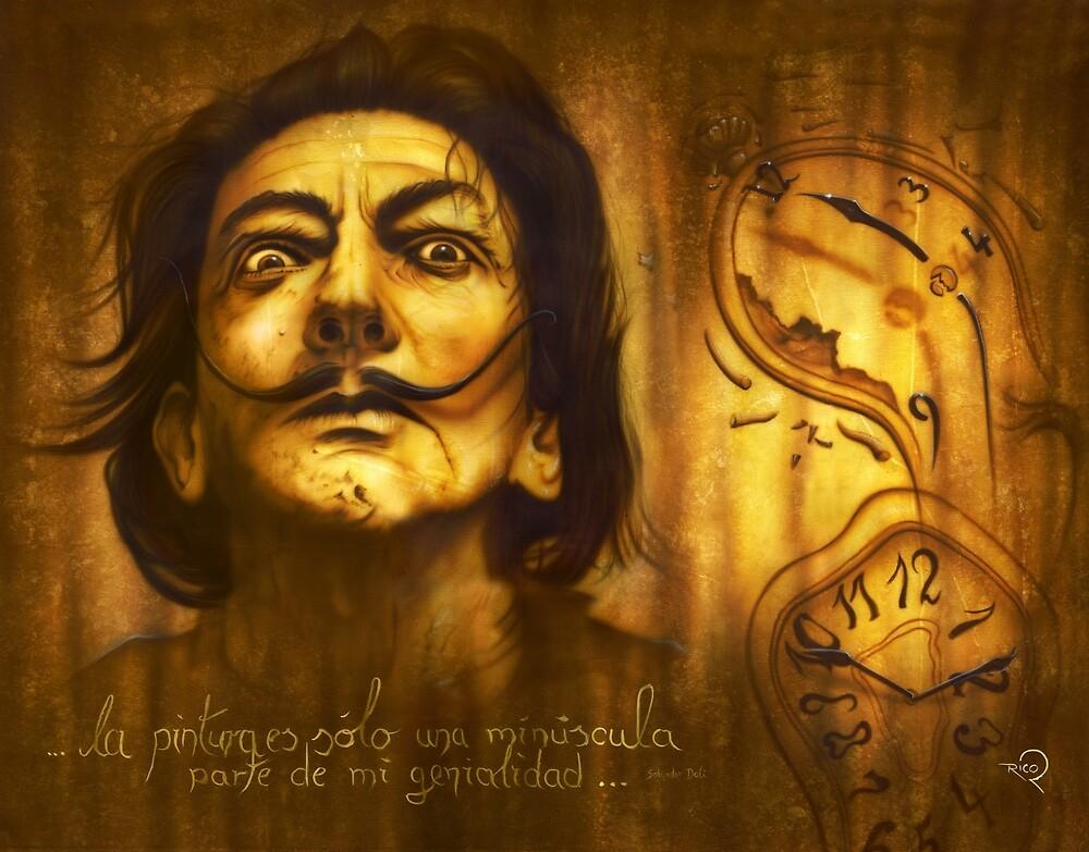 Dali - ...la pintura es solo una minuscula de mi genialidad... by Lunaticarts