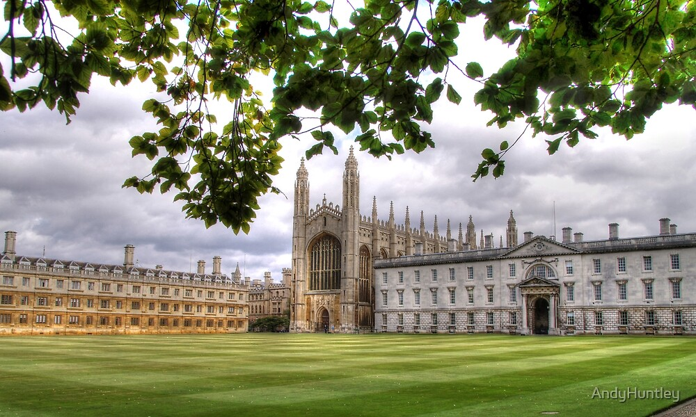 Kings College Cambridge by AndyHuntley