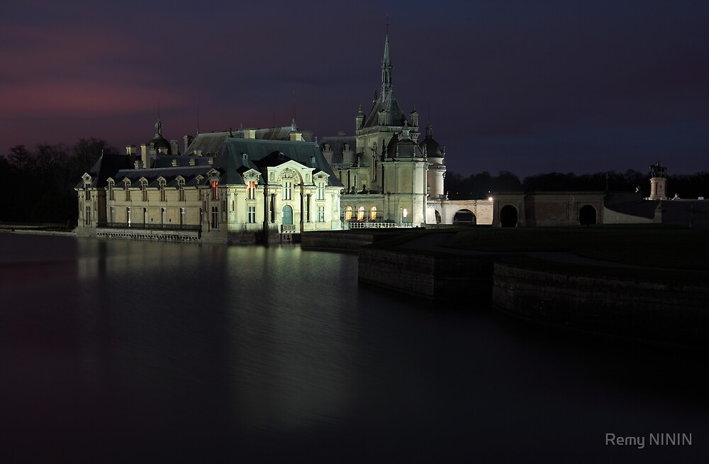 Chantilly, the castle, Oise, France. by Remy NININ