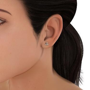 Diamond Gold Earrings Women by markstill001