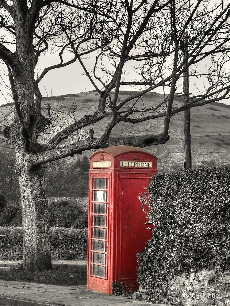 Rural Phone Box by AndyHuntley