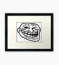 Troll Face Merchandise Framed Print