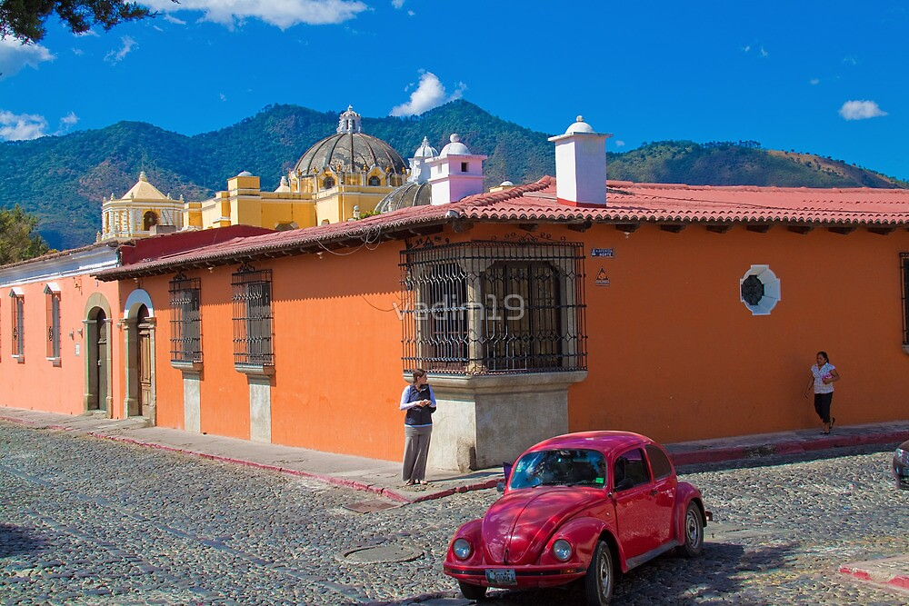 Guatemala. Antigua.  by vadim19