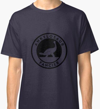 Ankylosaur Fancier Tee (Black on Light) Classic T-Shirt