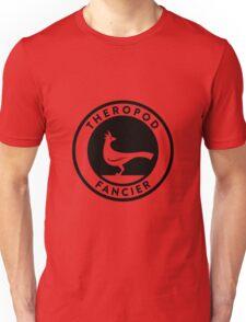 Theropod Fancier (Black on Light) T-Shirt