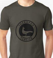Theropod Fancier (Black on Light) Unisex T-Shirt