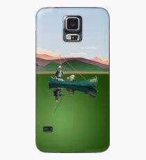 Phone case: Canoe Fishing Case/Skin for Samsung Galaxy