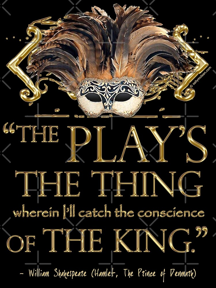 Shakespeare Hamlet Play Quote by Incognita Enterprises