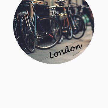 london- bikes by WebbedWhitehall