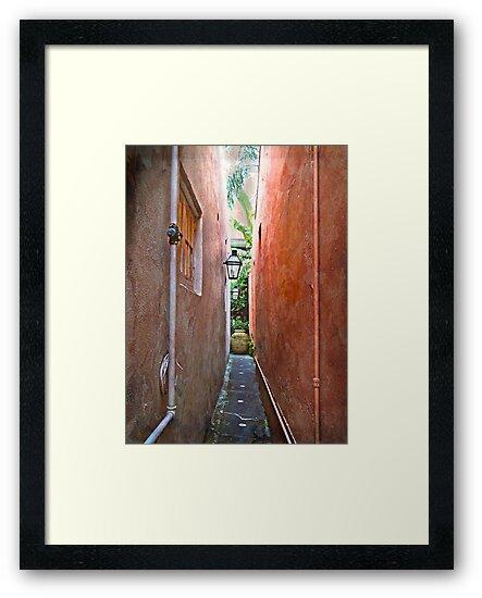 Just a Narrow NOLA Alley by designingjudy